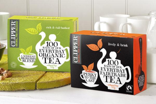 Clipper Teas Promises Plastic-Free Tea Bags for the Summer