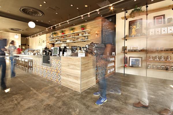 Shearwater Organic Coffee Roasters Opens Coffee Bar