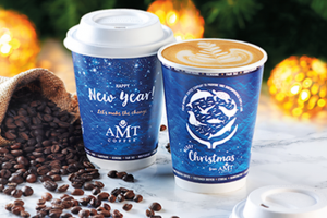 AMT Coffee Introduces 100% Bio Compostable Coffee Cups & Lids