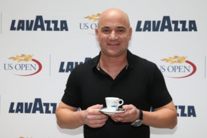 Lavazza partners with tennis legend Andre Agassi