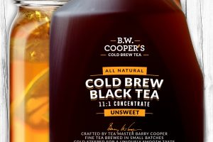 Cooper Tea Launches Cold Brew Tea Concentrate