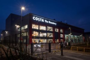 Costa Coffee quadruples roasting capacity with new facility
