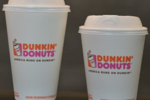 Dunkin' Donuts to Eliminate Foam Cups Worldwide in 2020