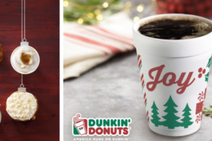 Dunkin' Donuts Holiday Coffee Flavours Return with New Festive Cups
