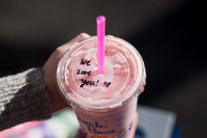 Dutch Bros shared the love on Valentine's Day