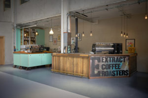 Extract Coffee Roasters Opens Training Facility Made from Landfill
