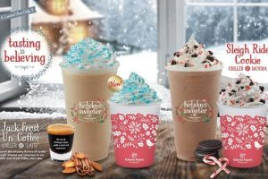 Gloria Jean's Coffees Winter Line Up Hits Stores