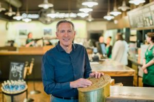 Howard Schultz Steps Down as Executive Chairman of Starbucks