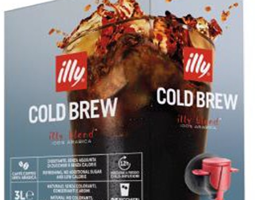 illy launches cold brew coffee for foodservice channels