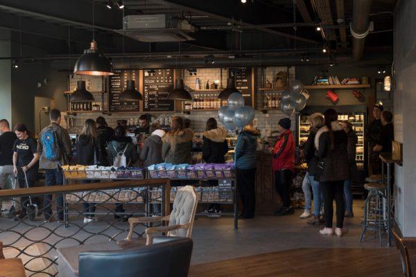 Caffè Nero Opens at Emirates Old Trafford