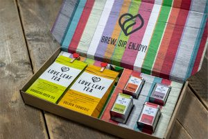 Durham Box's digital solution proves ideal for Love Leaf Tea