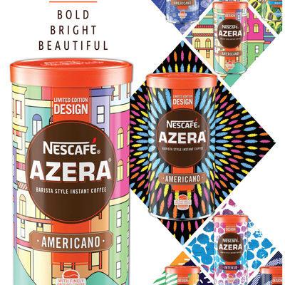 Crown Creates Exclusive Tins for Nescafé Azera Coffee