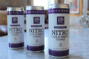 First RTD Nitro Cold Brew Coffee From PJ's Coffee