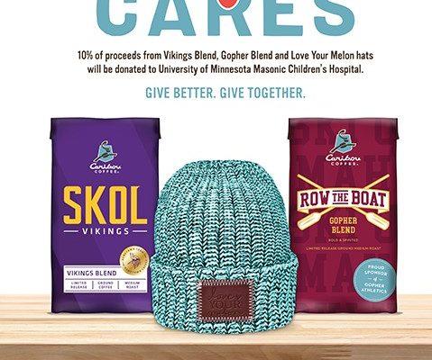 9dcc0747a18eb Caribou Coffee Cares Supports Uni of Minnesota s Masonic Children s Hospital