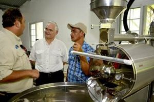 Panama Canal Authority Opens Coffee Processing Plant