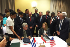 Ports of Nola and Cuba pledge joint efforts to expand trade & commerce