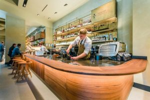 Starbucks & Princi Open 1st Stand-Alone Princi Café in US
