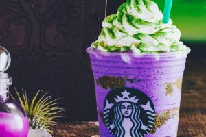 Starbucks Conjures Witch's Brew Frappuccino for Halloween
