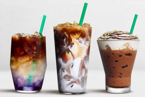 Colourful Cold Brews Debut at Starbucks in Asia this Spring
