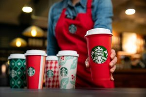 Annual Holiday Flavours & LE Reusable Cup Hit Starbucks Stores