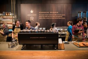 Starbucks 1st Reserve Store Opens with Princi Bakery & Mixology Bar