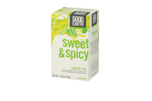 Good Earth adds green to sweet & spicy tea line