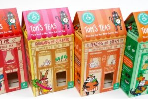 Qualvis Creates Packaging for Children's Fruit Tea Start-Up