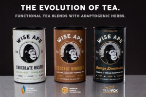 Wise Ape Tea Company Introduces Two New Functional Tea Blends