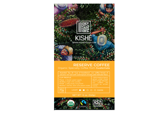 Kishe Coffee Redesigns Packaging & Website to Reflect Artisan Approach