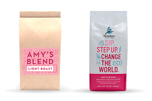 Caribou Coffee partners with Girls on the Run for 2019's Amy's Blend