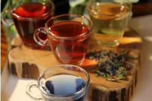 Asheville Tea's spring blends