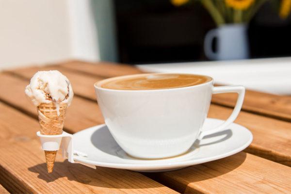 Coffee, tea and ice cream?