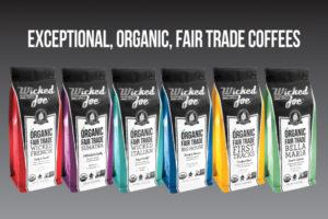 Wicked Joe Organic Coffees debuts updated packaging design