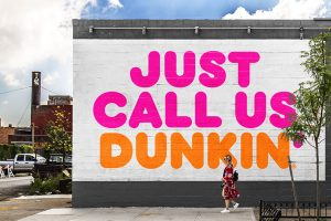 Dunkin' Officially Drops 'Donuts' from its Name