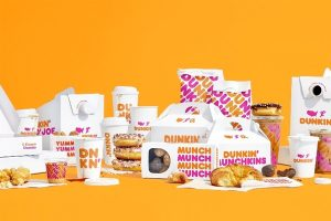 Dunkin' rolls out new packaging