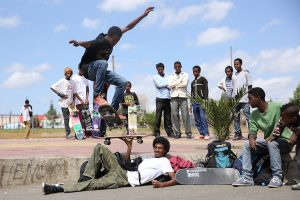 Extract Coffee launches Kickflip espresso to help Ethiopian skateboarders