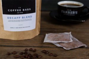 Coffee roaster launches fuss free coffee bags