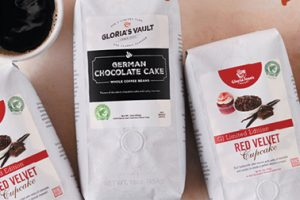 New whole bean flavors at Gloria Jean's