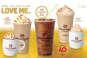 Gloria Jean's fall lineup includes shimmery 'gold brew'