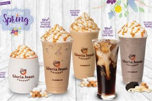 Spring brings tropical flavors to Gloria Jean's
