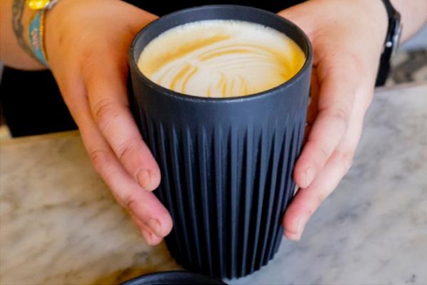 Think Coffee pilots Huskee Cup Swap program