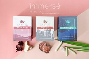 Herbal immersé tea collection launched