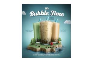 Caribou Coffee Launches Bubbles Beverage Line