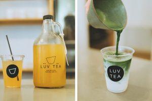 Spring cold brews at Luv Tea