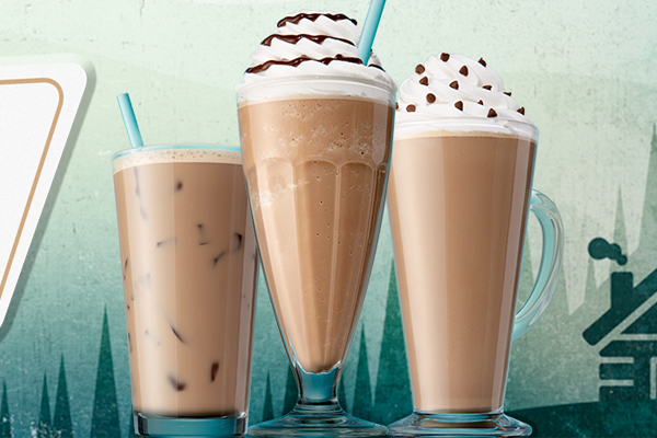 Caribou Introduces Malt Flavoured Beverages Tea Coffee