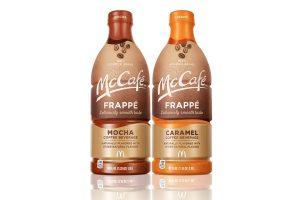 McCafé Frappé introduces multi-serve RTD bottles