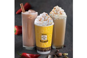 Spicy offerings from Nestlé toll House Café