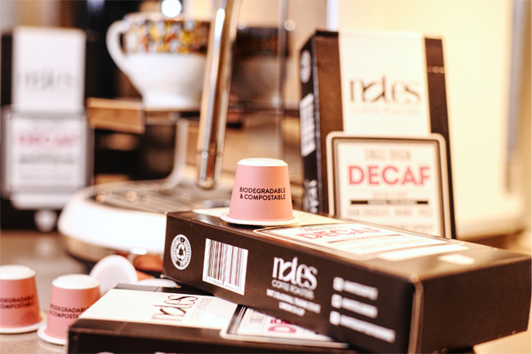 Notes Coffee launches compostable and biodegradable pods