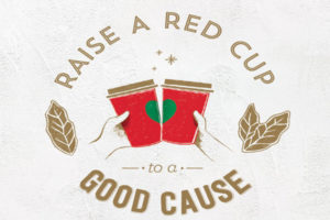 "Starbucks red cup campaign in Europe generates ""cheers"" for charities"