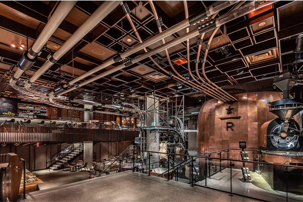 Starbucks Opens Immersive Coffee Destination in New York